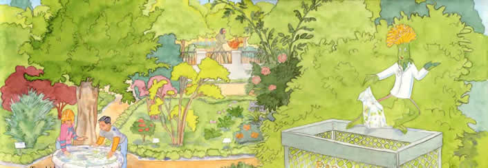 con las hojas y el material orgnico del jardn los jardineros general abono natural que luego